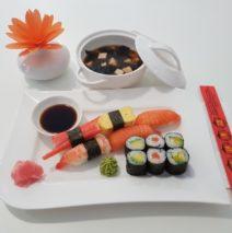 Menu sushis du jour